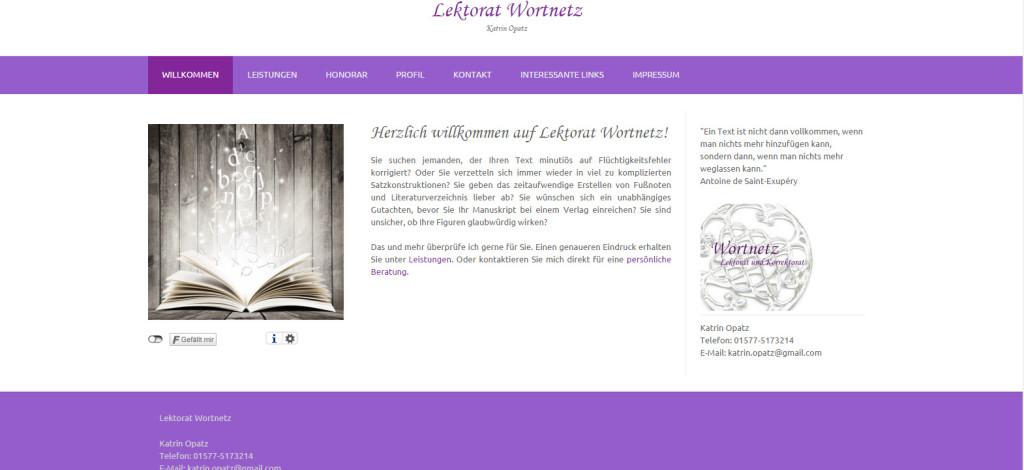 Katrin Opatz Webseite