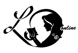 Silhouette von lesender Frau